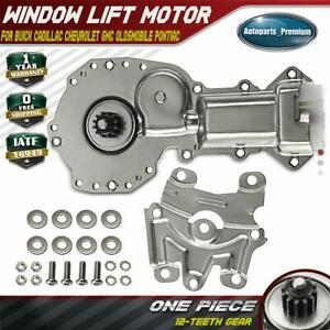 Window Motor 12 Teeth Gear Front Or Rear Driver Passenger For Chevy Gmc Pontiac
