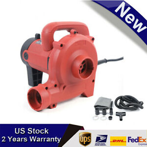New 1 2kw 110v Industrial Vacuum Cleaner Dust Blower F Cutting Slotting Milling