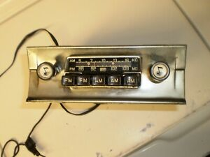 Rare Becker Europa Tg Am Fm Radio Vintage 50s And Early 60s Mercedes Porsche