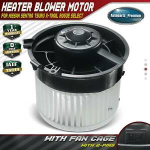 A C Heater Blower Motor For Nissan Sentra 2007 2012 Rogue Select Rogue Front New