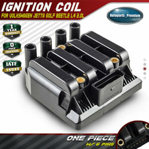 Ignition Coil On Plug For Volkswagen Jetta Golf Beetle L4 2 0l 06a905097a Uf484