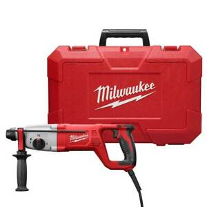 Milwaukee 5262 81 1 In Sds Plus Corded Rotary Hammer Kit Reconditioned