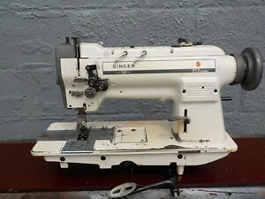 Industrial Sewing Machine Singer 212 539 Walking Foot Two Needle leather