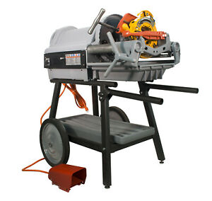 Reconditioned Ridgid 1224 Pipe Threading Machine With 150a Cart 26092