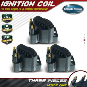 3 Ignition Coil For Buick Cadillac Chevy Oldsmobile Pontiac 87 05 3 1l 3 8l Dr39