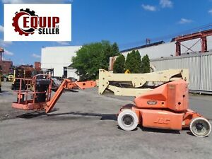 2008 Jlg E400ajp 40ft Electric Boom Man Aerial Telescopic Lift