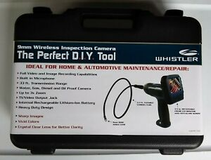 Whistler 9mm Wireless Inspection Camera With Detachable Lcd Carrying Case