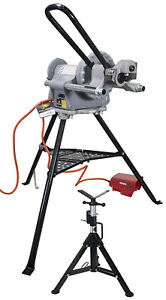 Reconditioned Ridgid 300 Power Drive And Steel Dragon Tools 916 Roll Groover