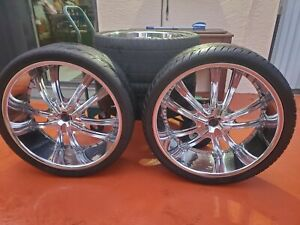 26 Inch Chrome Rims Tires