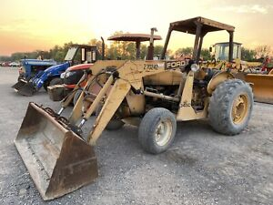 Ford New Holland 345c Industrial Tractor Loader Diesel 2wd