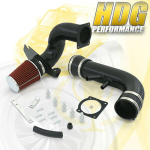Performance Cold Air Intake Induction Blk W 3 5 Filter For 96 04 Mustang Gt V8