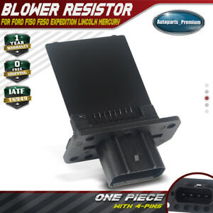 Hvac Heater Blower Motor Resistor For Ford F 150 Escape Expedition Mazda 10 14