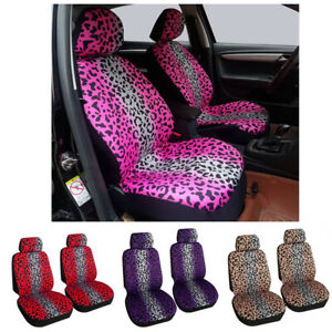 Auto Seat Covers For Car Truck Suv Van Universal Protectors Polyester 4 Colors