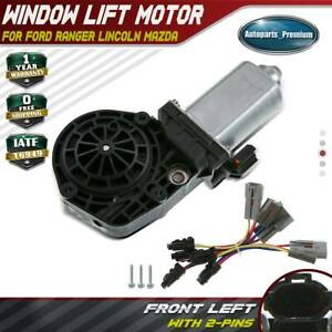 Power Window Lift Motor For Mazda B2200 B2300 Ford Ranger Lincoln Front Lh Left