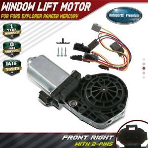 Window Lift Motor 9 Tooth For Ford Explorer Ranger Lincoln Mercury Front Right