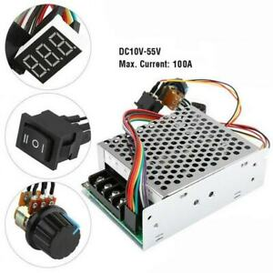 Reversible Dc Motor Pwm Speed Controller Control Dc 10 55v 100a 5000w