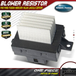 Ac Heater Blower Motor Resistor For Ford Fusion 06 12 Milan Mercury 8e5z19e624a