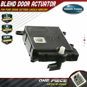 New Blend Door Actuator For Ford Crown Victoria Grand Marquis 1990 2011 604 214