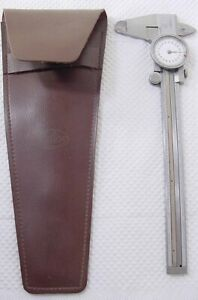 Helios Dial Calipers Case 001 Measurements Hardened Stainless Steel Germany