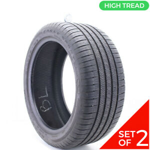 Set Of 2 Used 285 40r20 Goodyear Eagle Sport Moextended Run Flat 108v 9 5 32