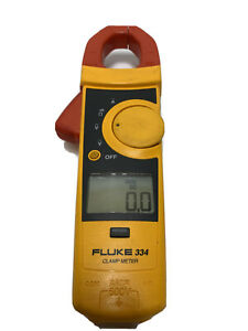 Fluke 334 Digital Clamp Multimeter Meter W Genuine Leads And Pouch