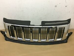 2011 2012 2013 Jeep Grand Cherokee Front Chrome Grille Oem 55079377