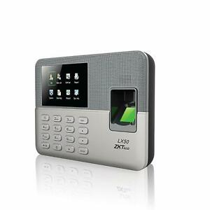 Biometric Fingerprint Time Attendance Clock Employee Checking in Recorder With B