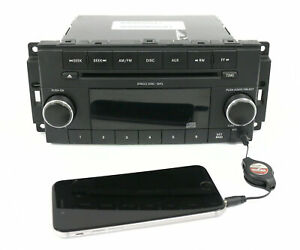 2008 2009 Jeep Commander Dodge Am Fm Mp3 Radio Cd Player W Aux P68021159ac Res