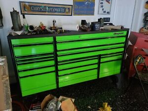 Snap On Green And Black 84 Epiq Tool Box Brand New