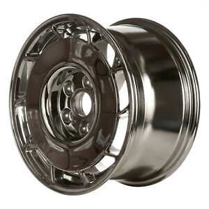Driver Side Aluminum Wheel 16x8 5 Chrome 10 Slot 5x4 75 Bolt Pattern