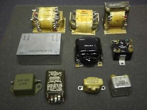 Mixed Lot N a Vintage Power Transformers