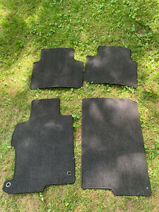 Honda Accord 2013 2017 Black Carpet Floor Mats Set Of 4 Oem