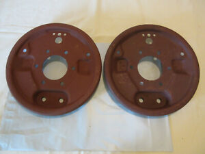 Gpw Jeep Willys Mb Axle Brake Backing Plates 2