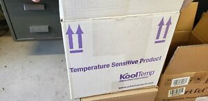 Insulated Styrofoam Cooler Shipping Container White Foam Kooltemp tm Kt 12109