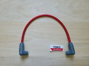 Replacement Msd Blaster 2 Or 3 Ignition Hei Coil Wire 8 5mm 90 Boots Red 84059