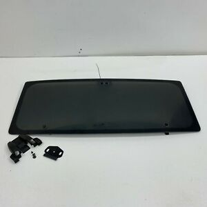 1984 1988 Oem Pontiac Fiero Sunroof Glass Roof Window s6582