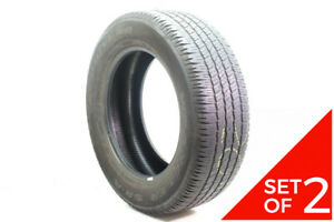 Set Of 2 Used P 275 60r20 Goodyear Wrangler Sr a 114s 6 5 8 32