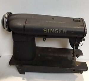 Vintage Singer 400w21 Industrial Double Rotary Take Up High Speed Sewing Machine