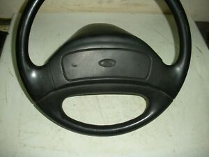 1992 96 Ford Truck Steering Wheel Non air Bag W horn Pad F150 F250 F350 Bronco