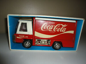 VINTAGE COCA-COLA, BUDDY L JR TRUCK, WITH BOX, TRUCK IS 9 1/2