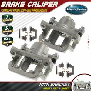 2x Disc Brake Calipers For Nissan Rogue 2008 2013 Rogue Select Rear Left Right
