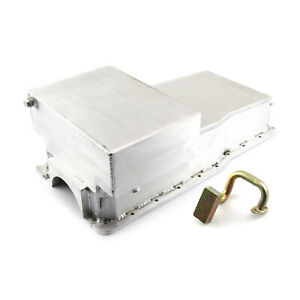 Ford 351w Windsor 7qt Fabricated Drag Front Sump Oil Pan Pickup Svo Block