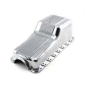 Ford Sb 289 302 Windsor 1965 87 Front Sump Polished Aluminum Oil Pan
