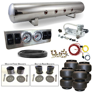 61 64 Cadillac Airbag Kit Stage 1 1 4 Manual Control 4 Path Air Ride System