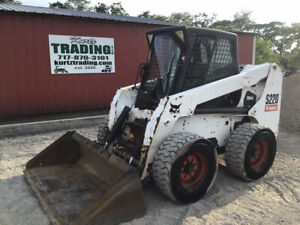 2006 Bobcat S220 Skid Steer Loader W Cab Kubota Diesel Engine Cheap
