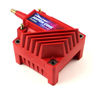 Universal Pc92 12v High Output External Male E core Ignition Coil Red