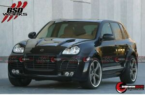 2002 2006 Cayenne 955 Ta Style Wide Body Kit Bumpers Skirts Flares Fit Porsche
