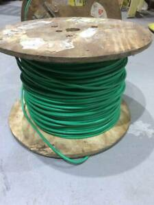 8 Awg 1 500 Ft Spool Of Mil spec Fine Braid Tinned Wire One Spool