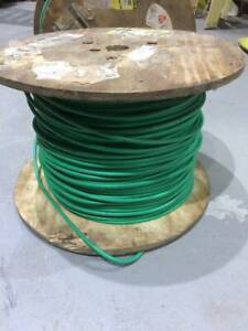 8 Awg 1 100 Ft Mol Spool Of Mil spec Fine Braid Tinned Wire One Spool