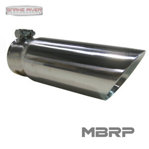 Mbrp Exhaust Tip 3 Inlet 3 5 Outlet 10 Length Dual Wall Angled End Stainless